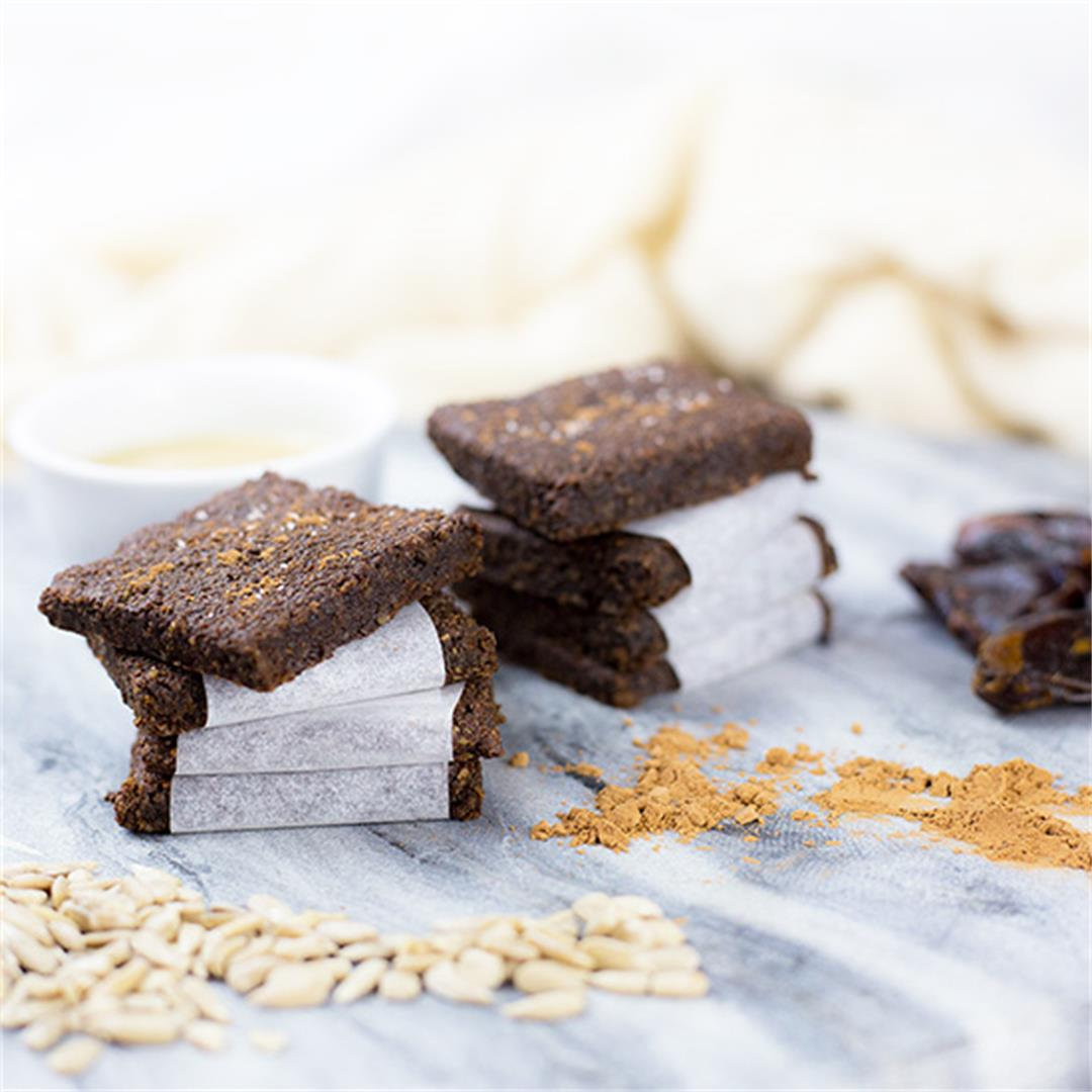 Carob & Tahini Seed Bars