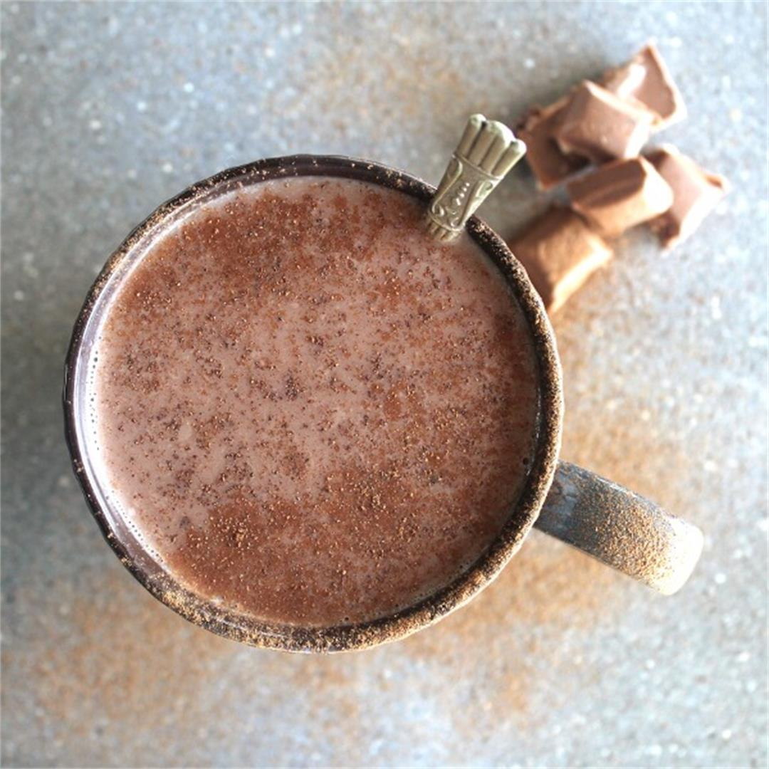 THE BEST Dairy Free Hot Chocolate