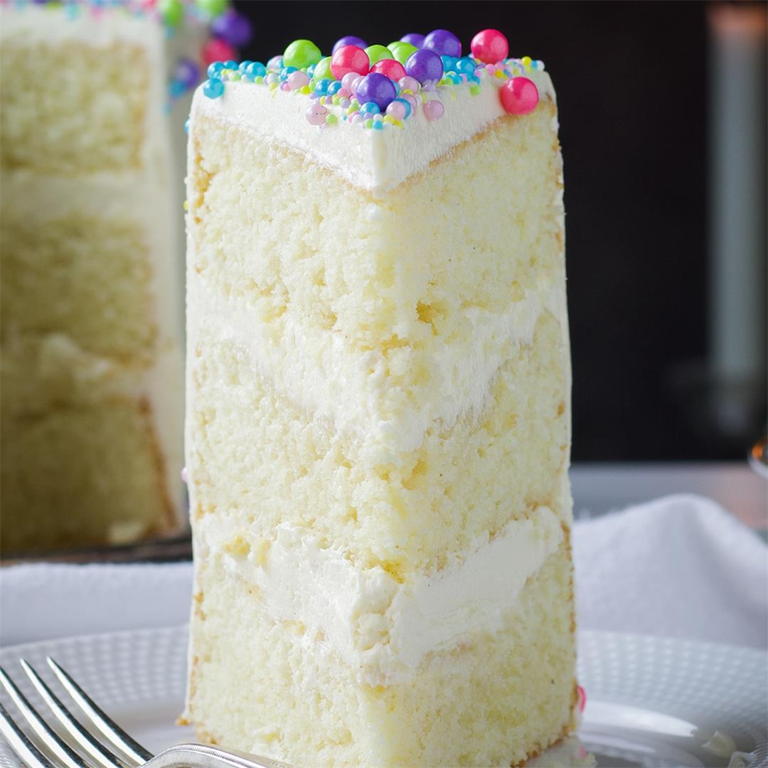 The Most Flavorful Vanilla Cake Recipe