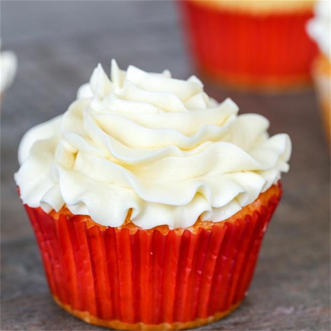 Perfectly Moist Cupcake Recipe