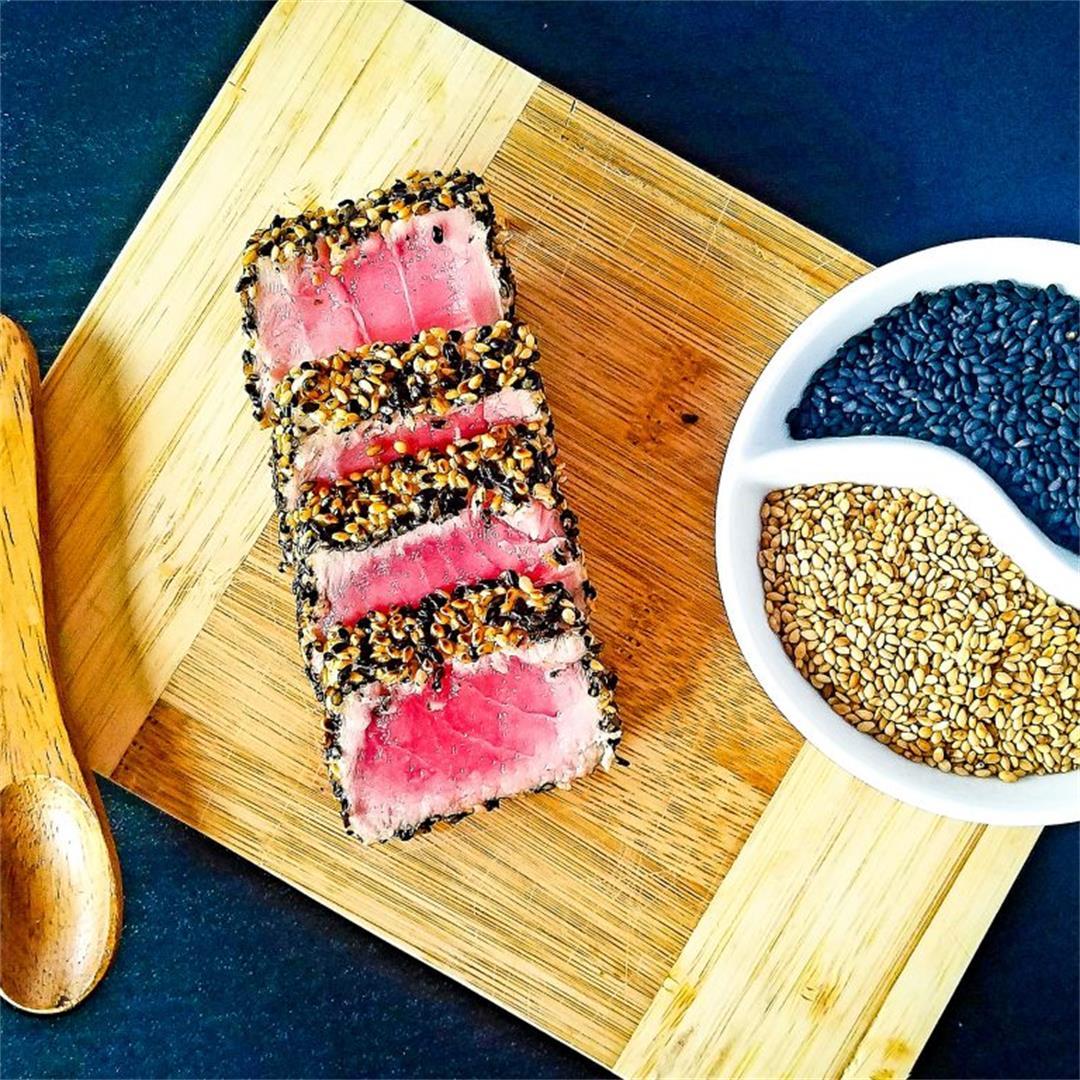 Sesame-Crusted Ahi Tuna