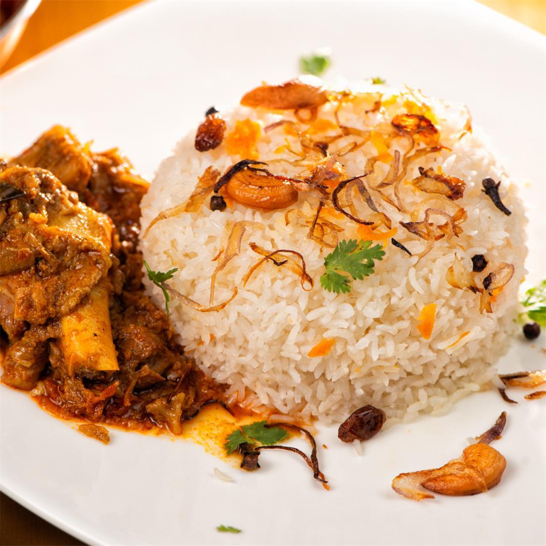 Ghee Rice / Kerala style Ney Choru / Ghee Rice Recipe