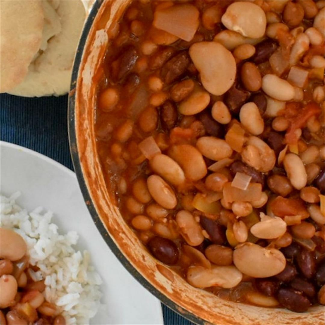 5 Bean Chilli • Fabulous Family Food by Donna Dundas