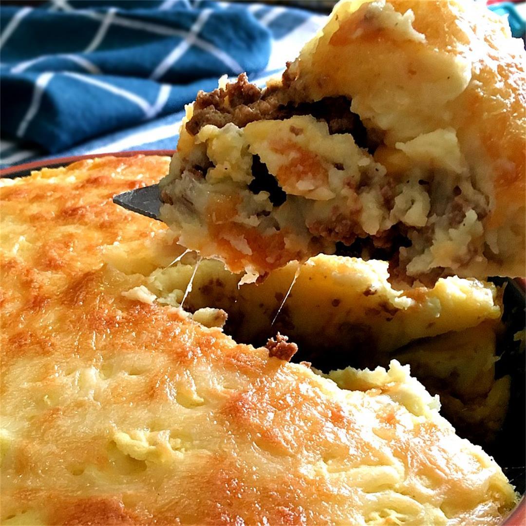 Easy Cottage Pie and Gravy Recipe