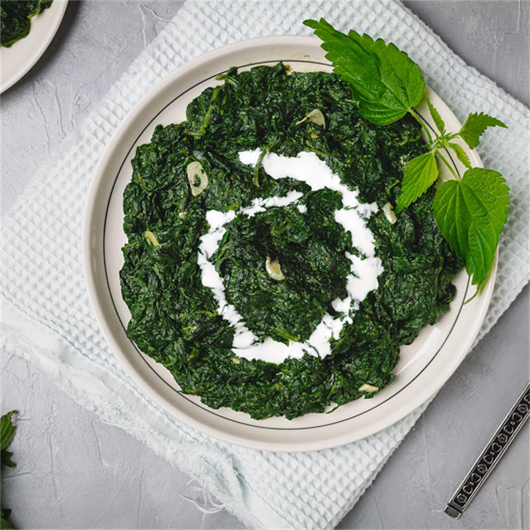 Balkan-Style Creamy Stinging Nettle Recipe