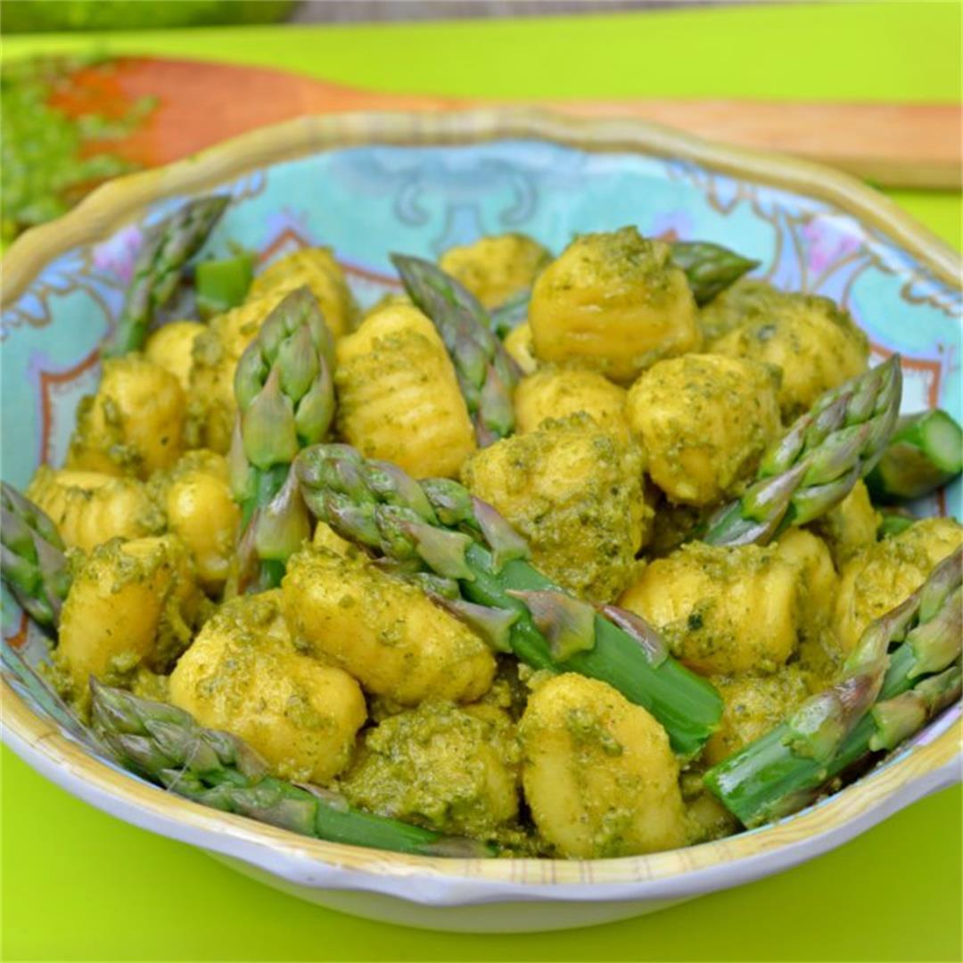 Asparagus & Parsley Pesto Gnocchi — Tasty Food for Busy Mums