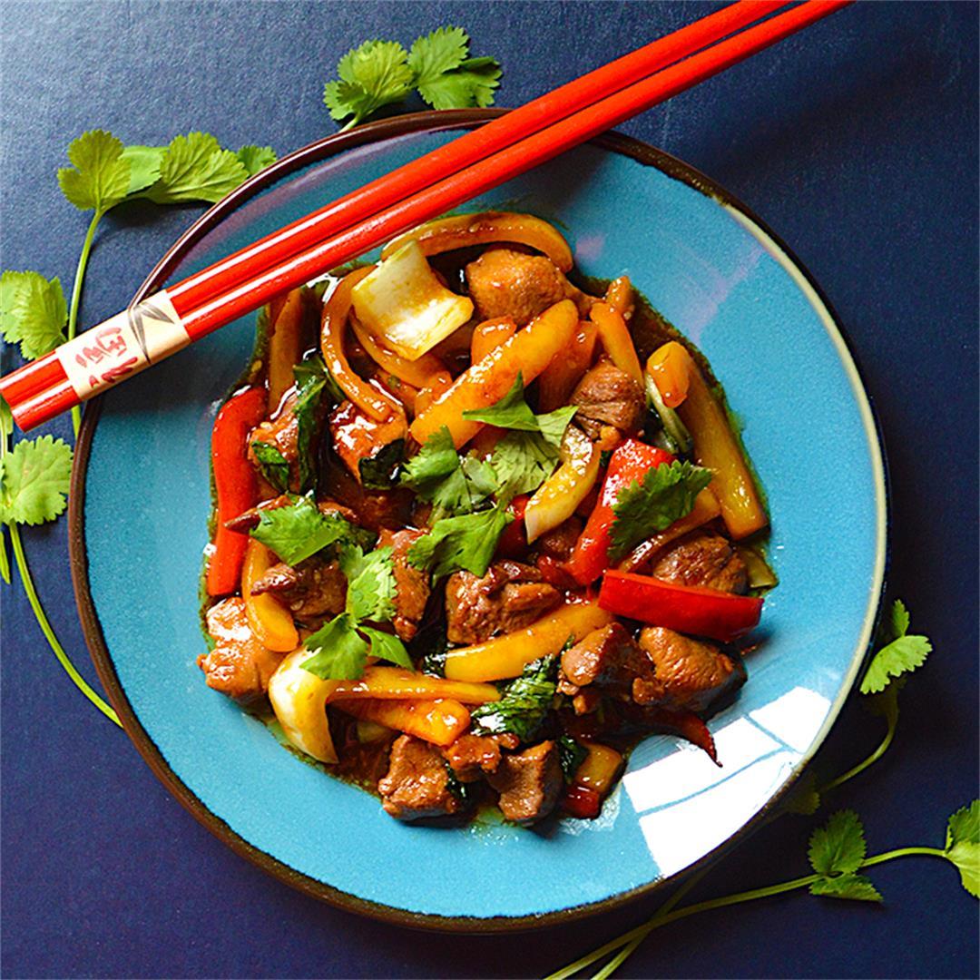 Asian Duck Stir-Fry