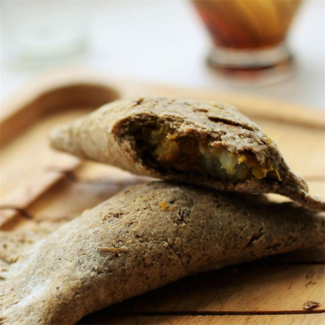 Curried Lentil Pasty Recipe