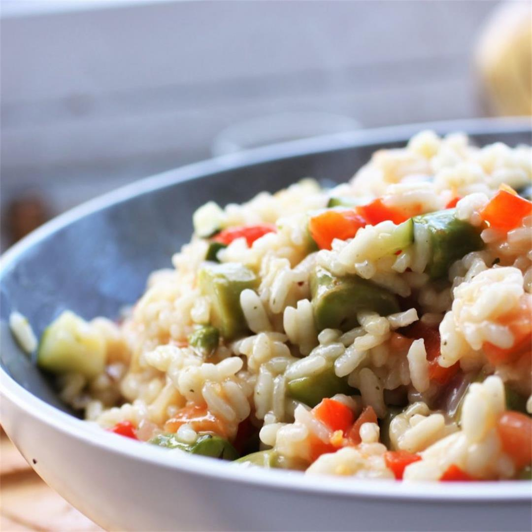 Spring Vegetable Risotto Recipe