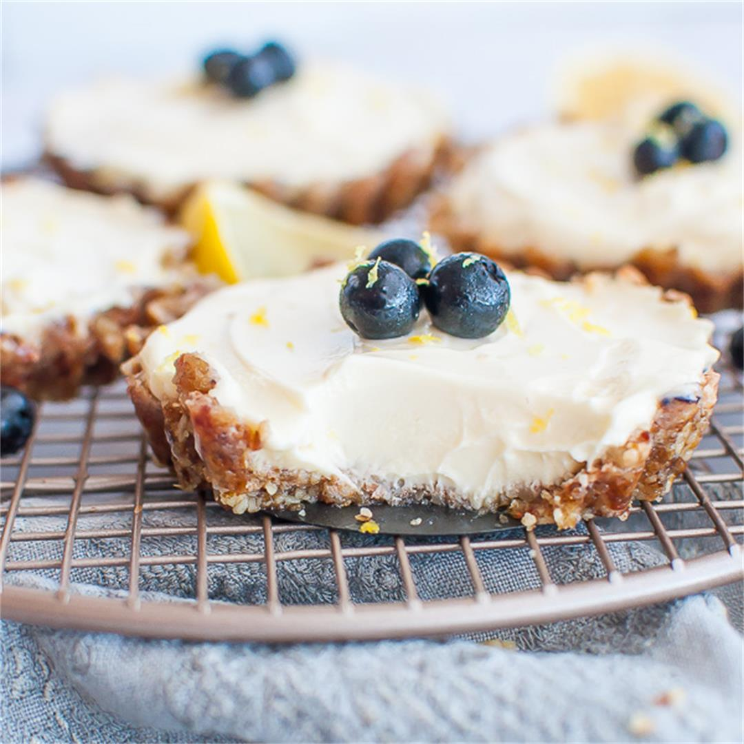 Make Ahead Clean Eating Mini Lemon Tartlets Perfect For A Dinne