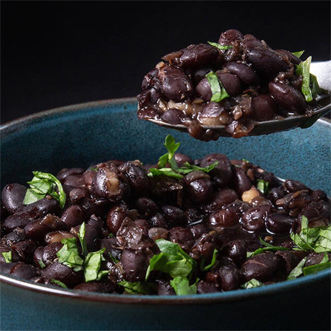 Foolproof Instant Pot Black Beans (No Soak)