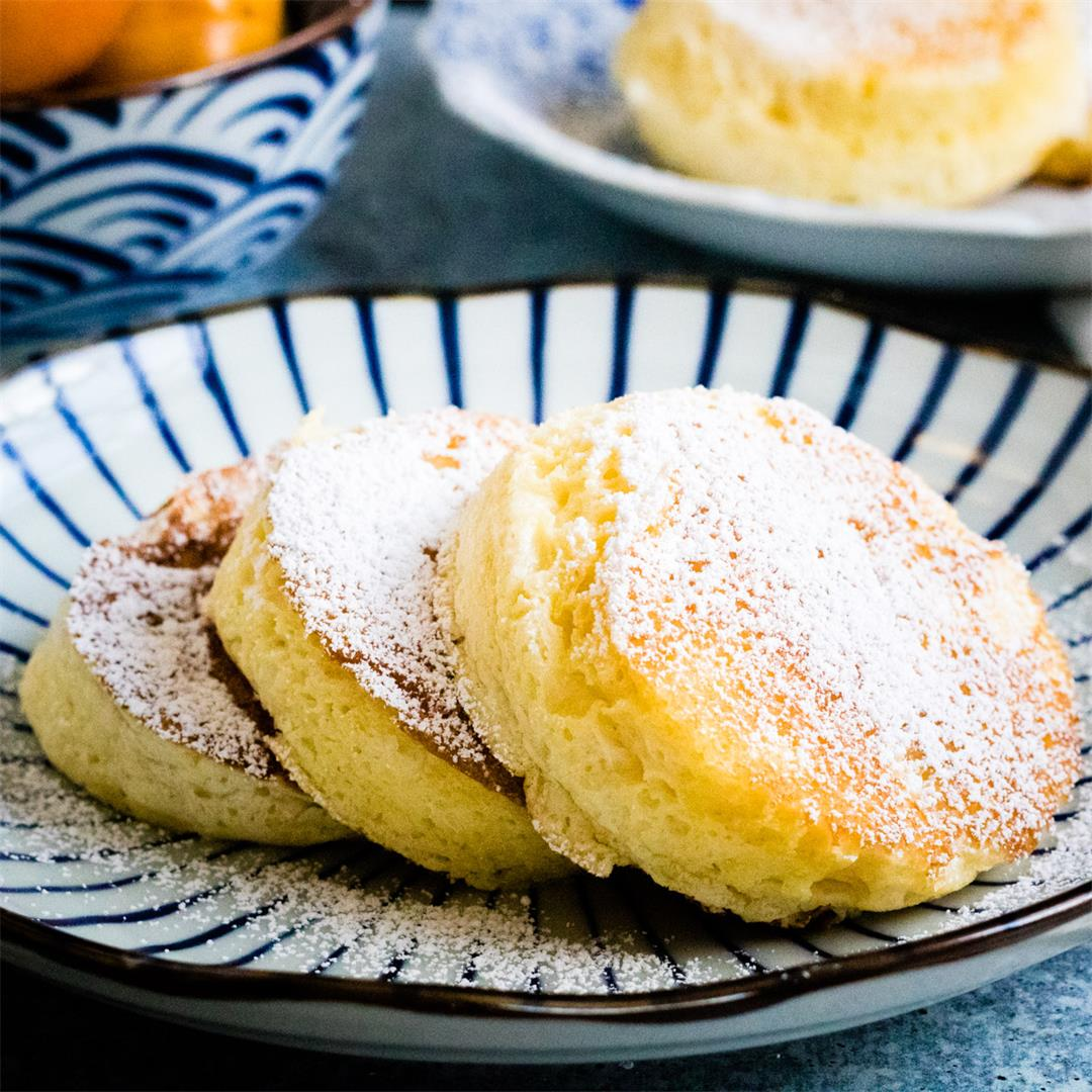Souffle Pancakes Made Easy—And So Fluffy!