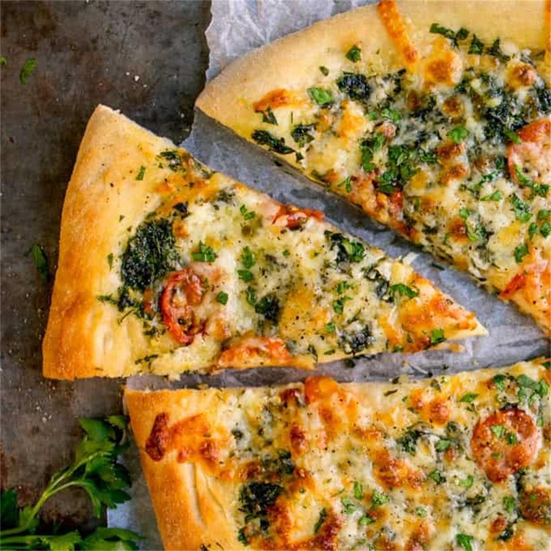 Cheese and Tomato Garlic Pizza Bread + Some News!