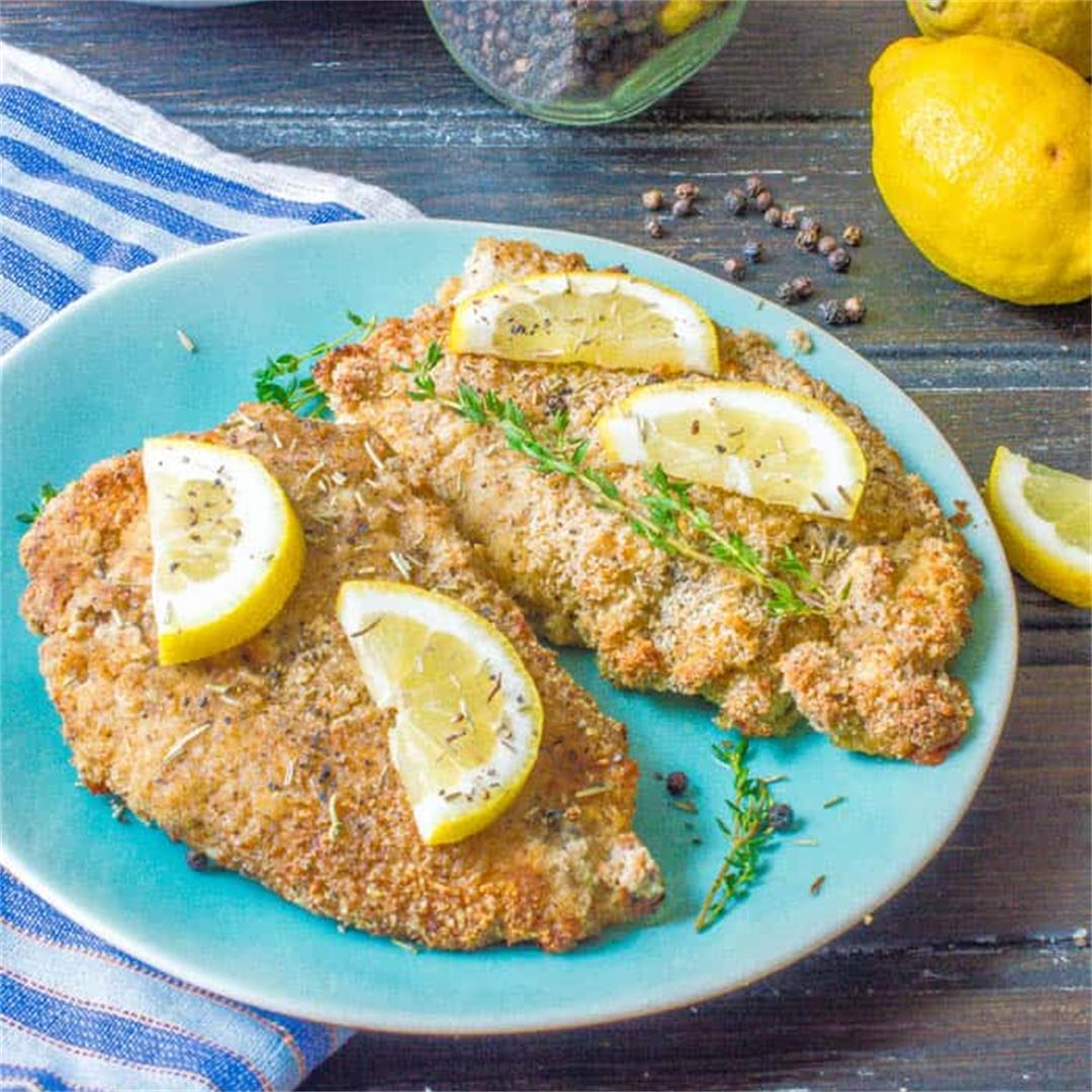 Lemon pepper chicken {Air fryer or Oven} Keto,GF, Paleo