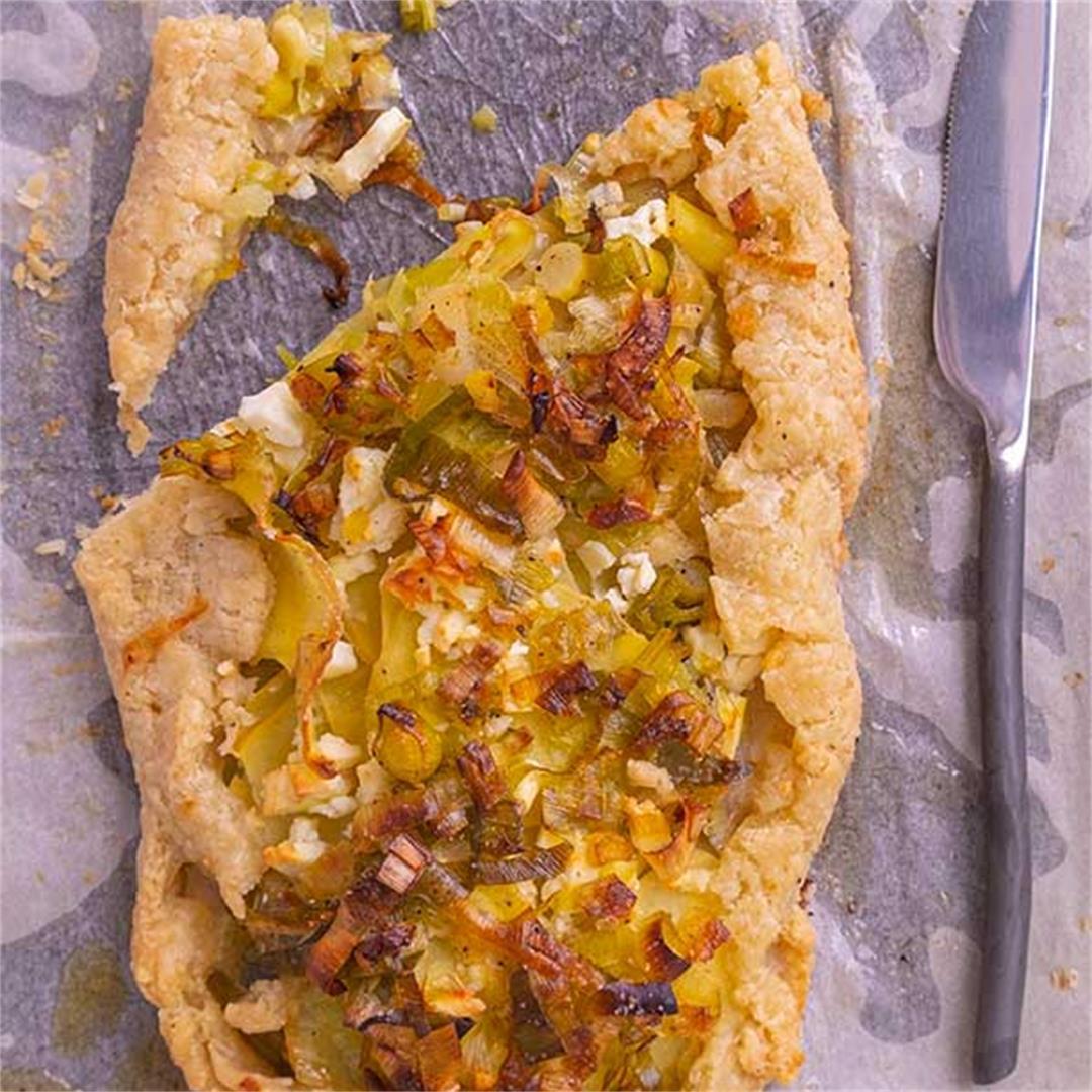 Gluten-Free Leek & Potato Crostata