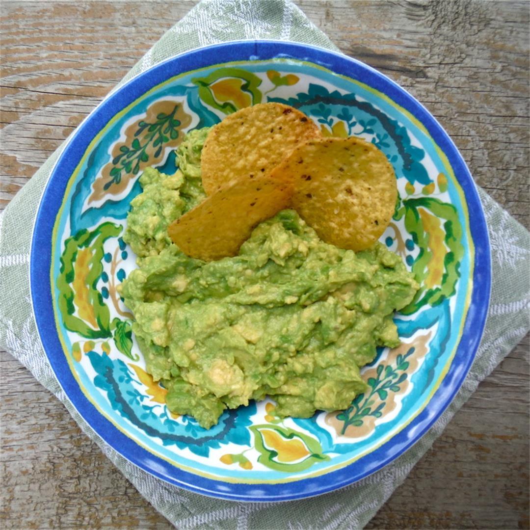 The best easy guacamole