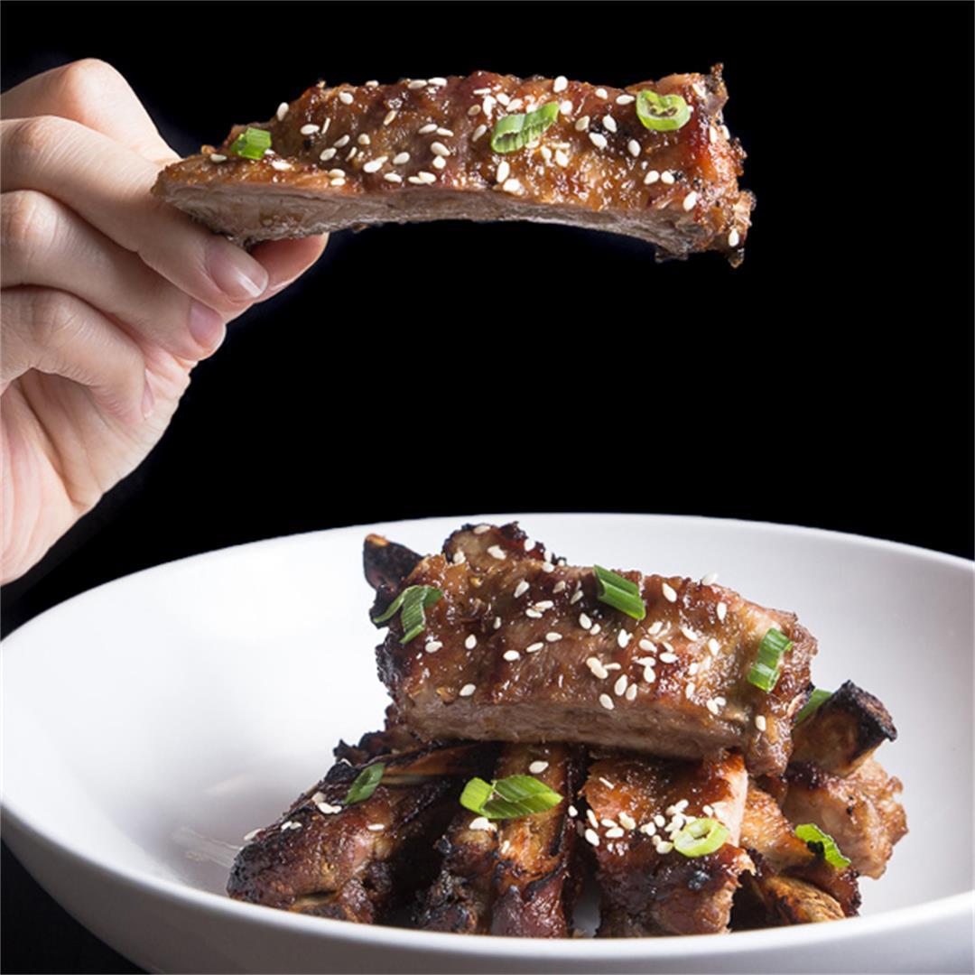 Instant Pot Finger-Licking Korean Ribs