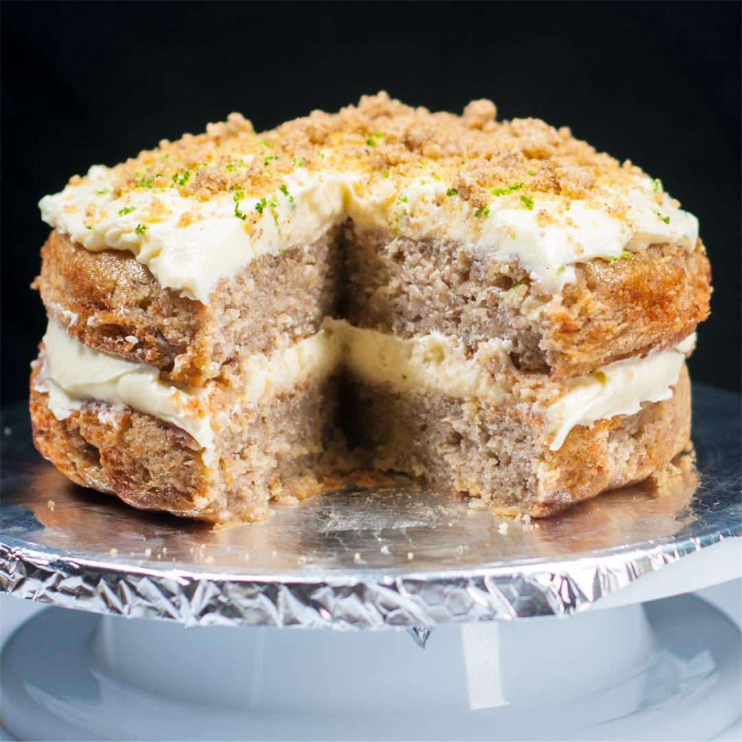 Humble Hummingbird Cake With Sweet Pecan Dust