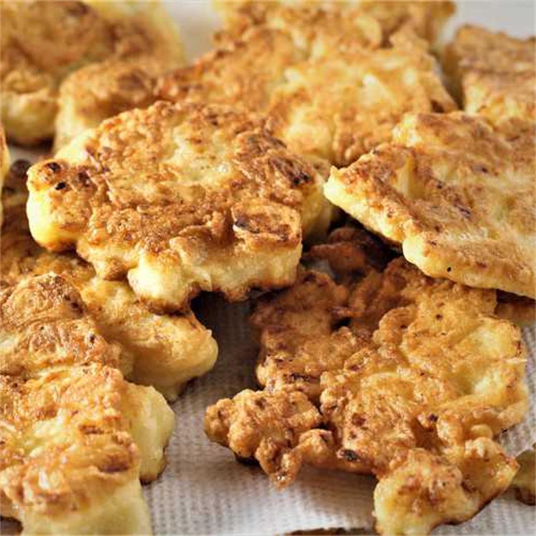 Cauliflower Fritters (Crispeddi cu brocculu)