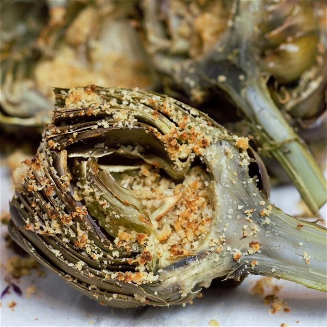 Parmesan Stuffed Artichokes: How To Cook Artichokes Perfectly