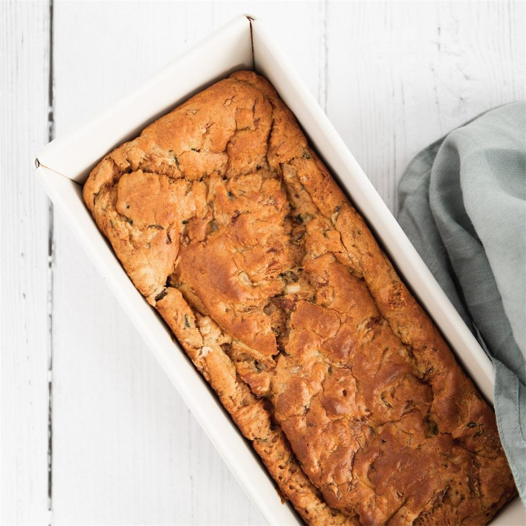 One Bowl Vegan Zucchini Bread