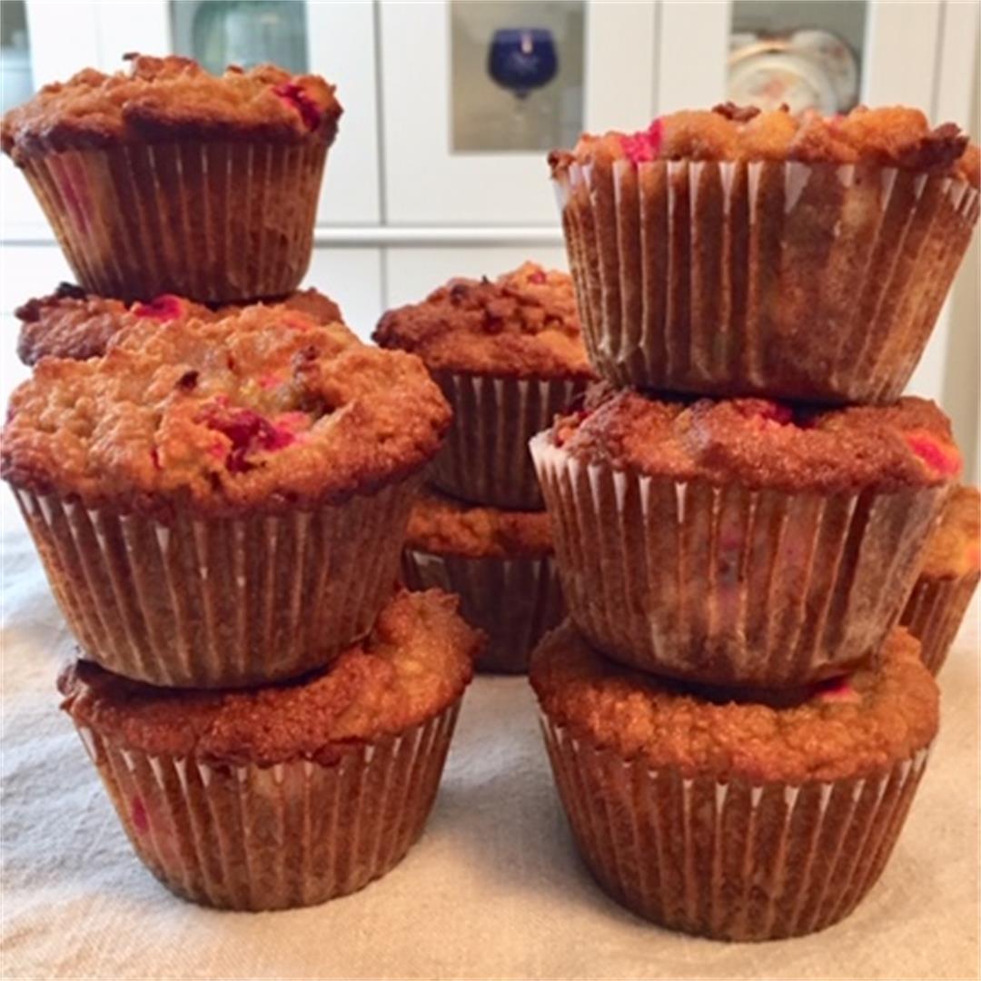 Paleo Cranberry Muffins