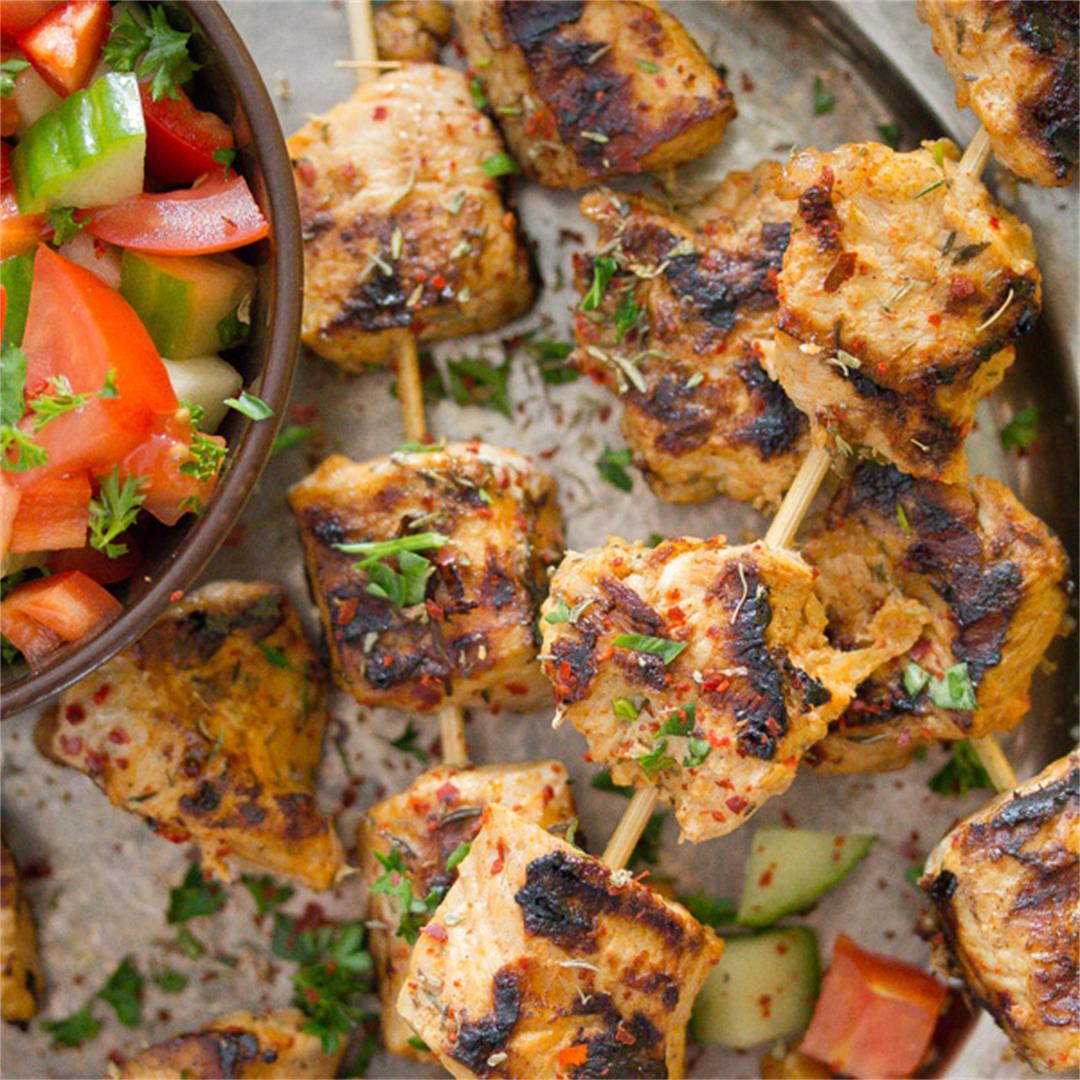 Easy Turkey Kebabs – Turkish Recipe