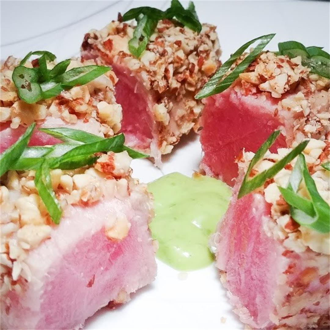 Almond Crusted Tuna