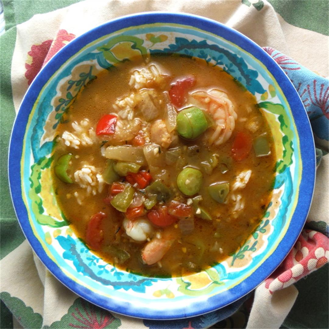 Shrimp and Sausage Gumbo