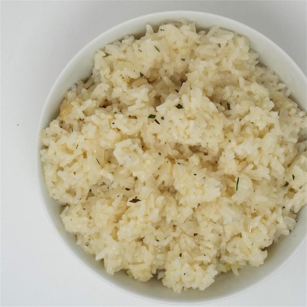 Rosemary Rice Pilaf