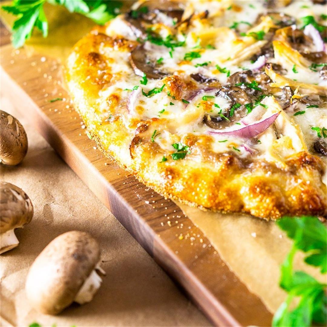 Coq Au Vin Pizza