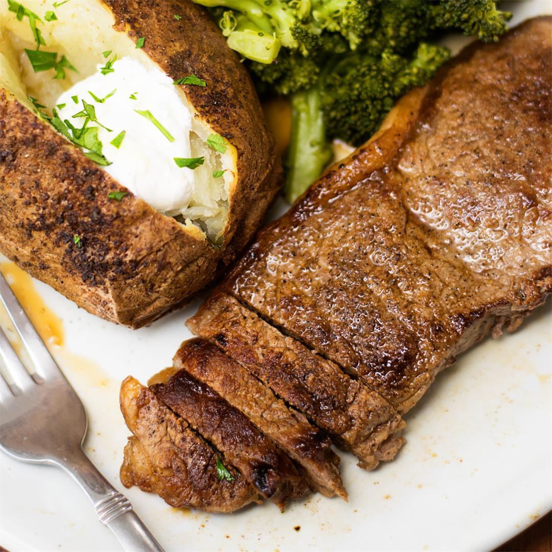 How to Make Perfect Pan Seared Steak Recipe