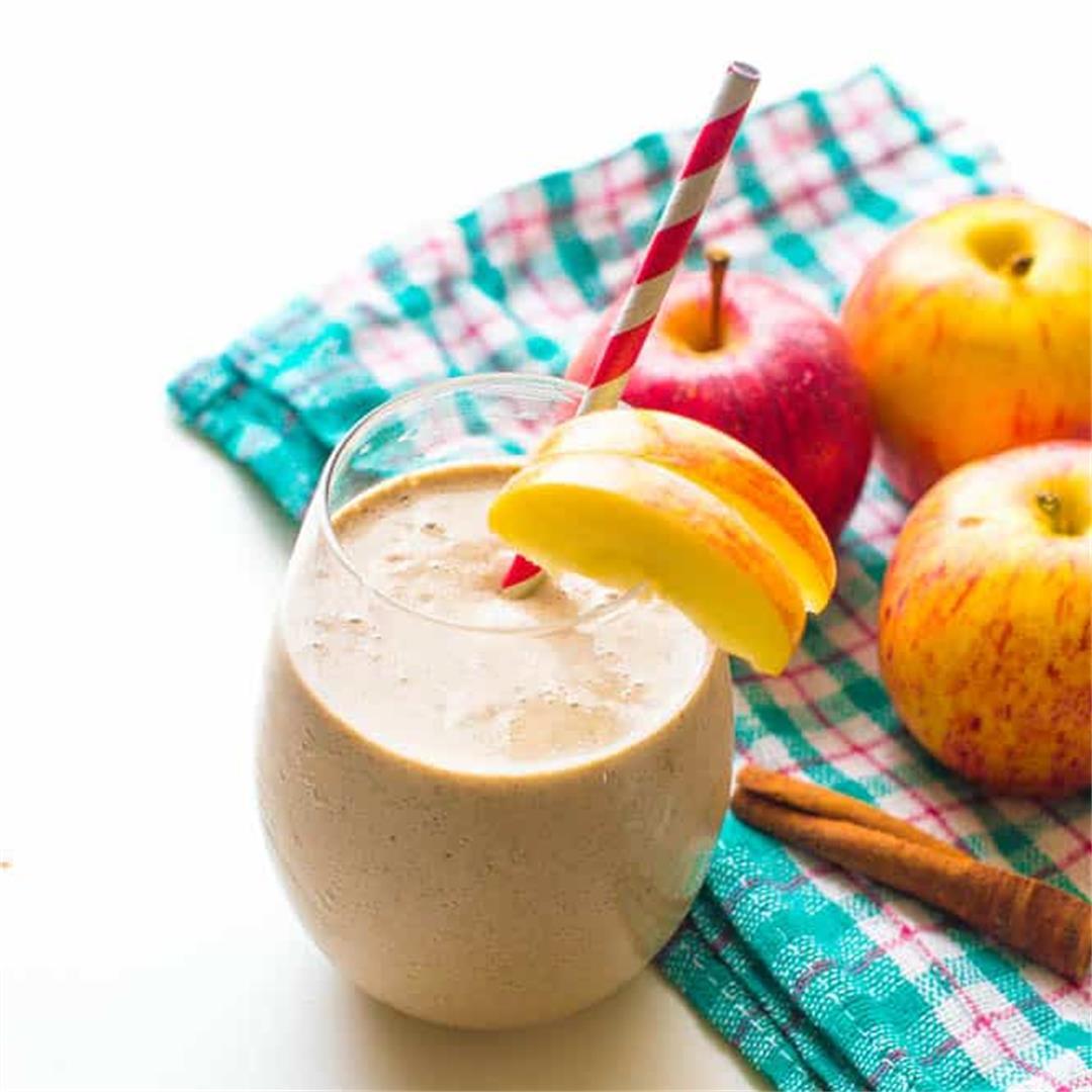 Apple pie smoothie {Vegan, Paleo, Keto}