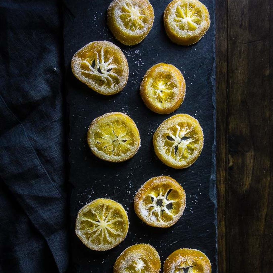 How to Make Candied Lemon Slices