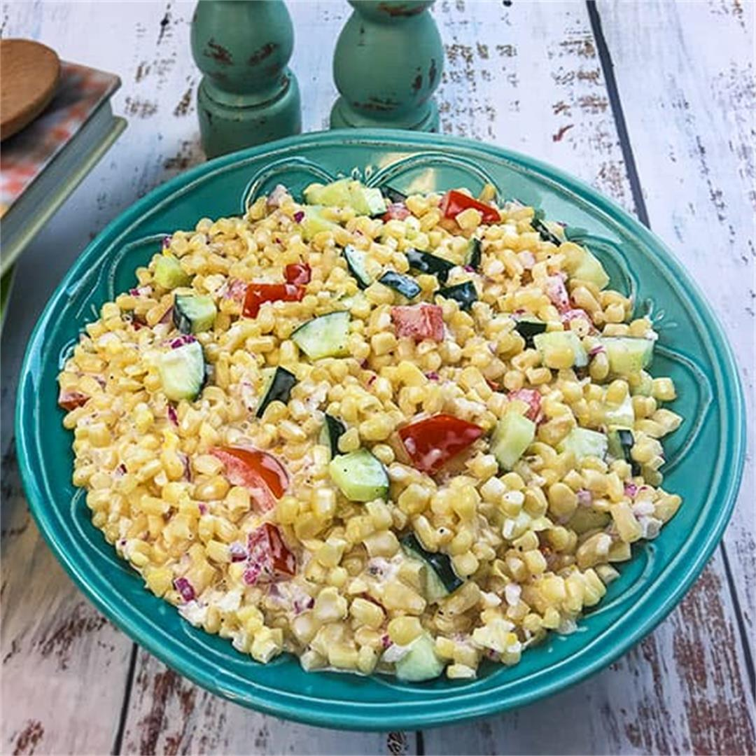 Creamy Summer Corn Salad