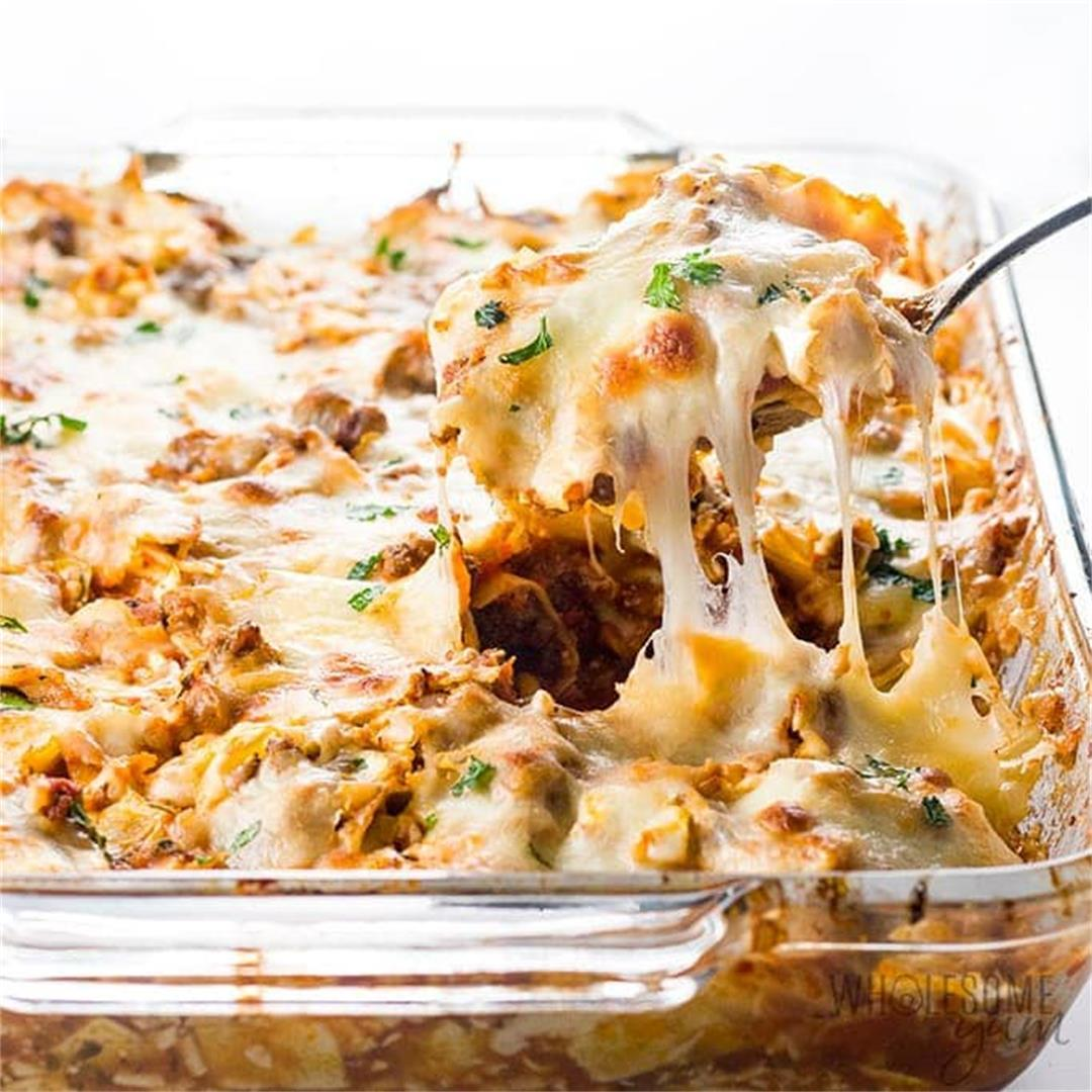 Easy Lazy Cabbage Roll Casserole Recipe