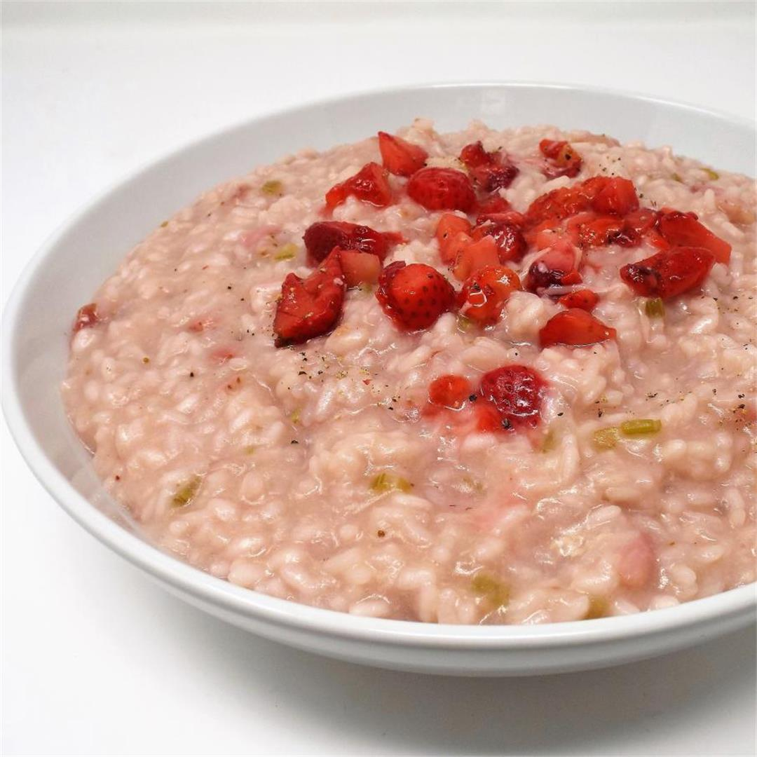 Italian Strawberry Risotto