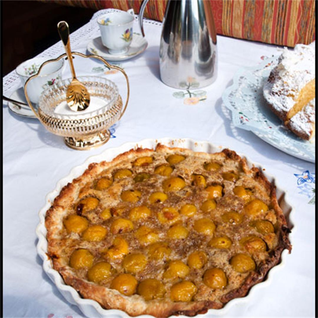 Traditional Mirabelle Tart