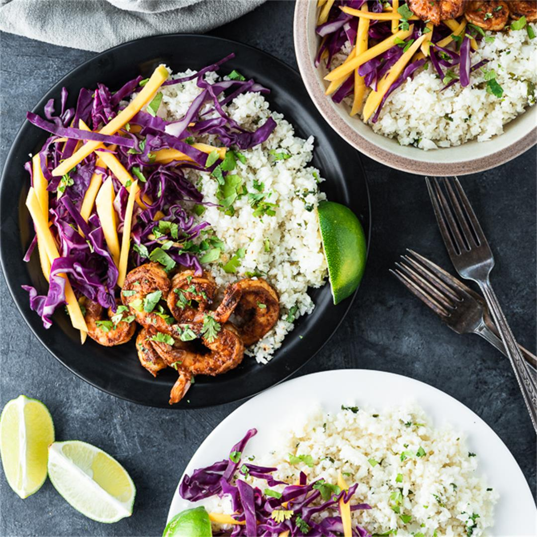 Whole30 Shrimp Buddha Bowls