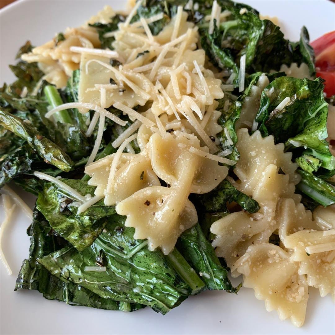 Grilled Ceasar Pasta Salad