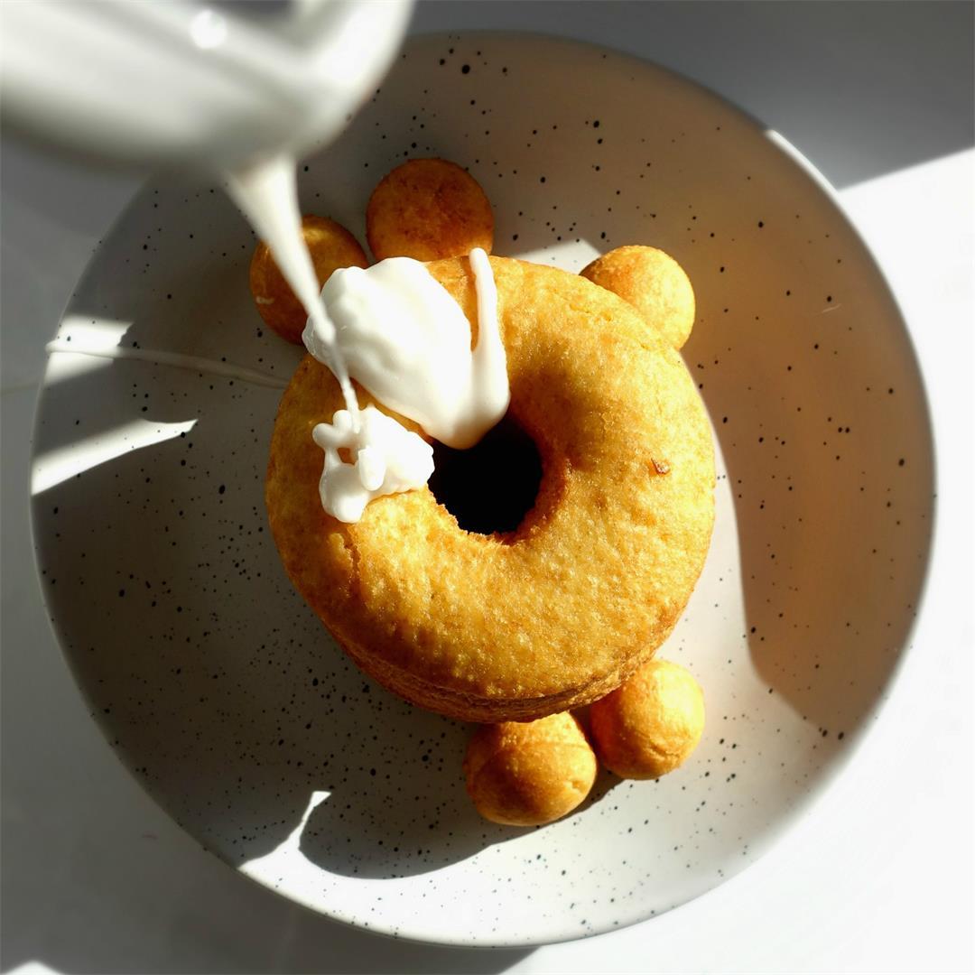 Glazed Tofu Donuts
