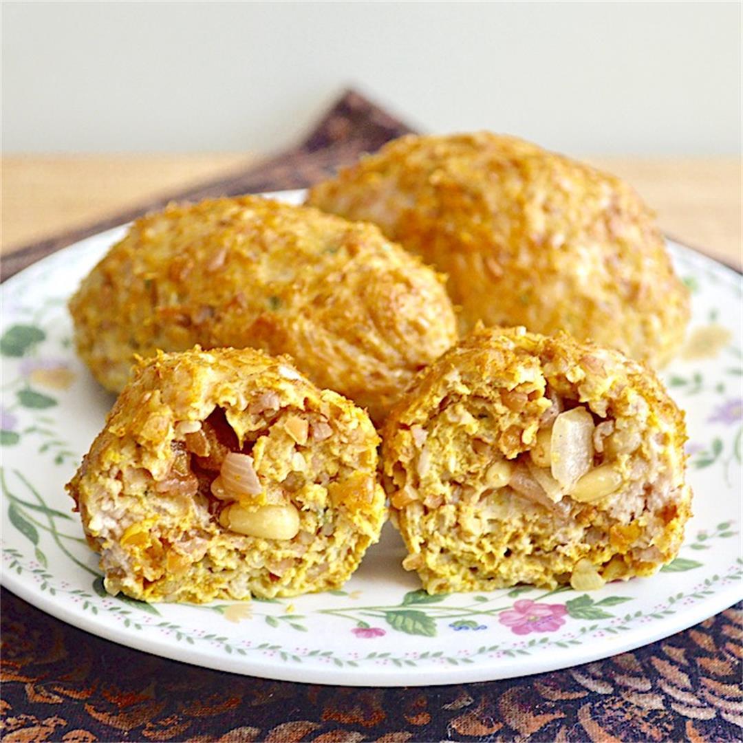Chicken Kibbeh - Jeanie and Lulu's Kitchen