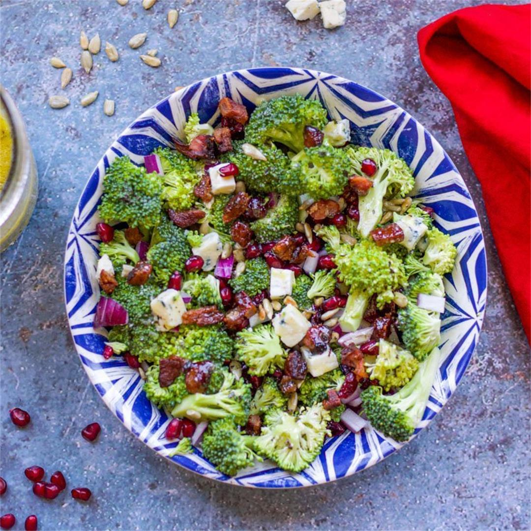 Healthy Broccoli Salad (without added fat and sugar)