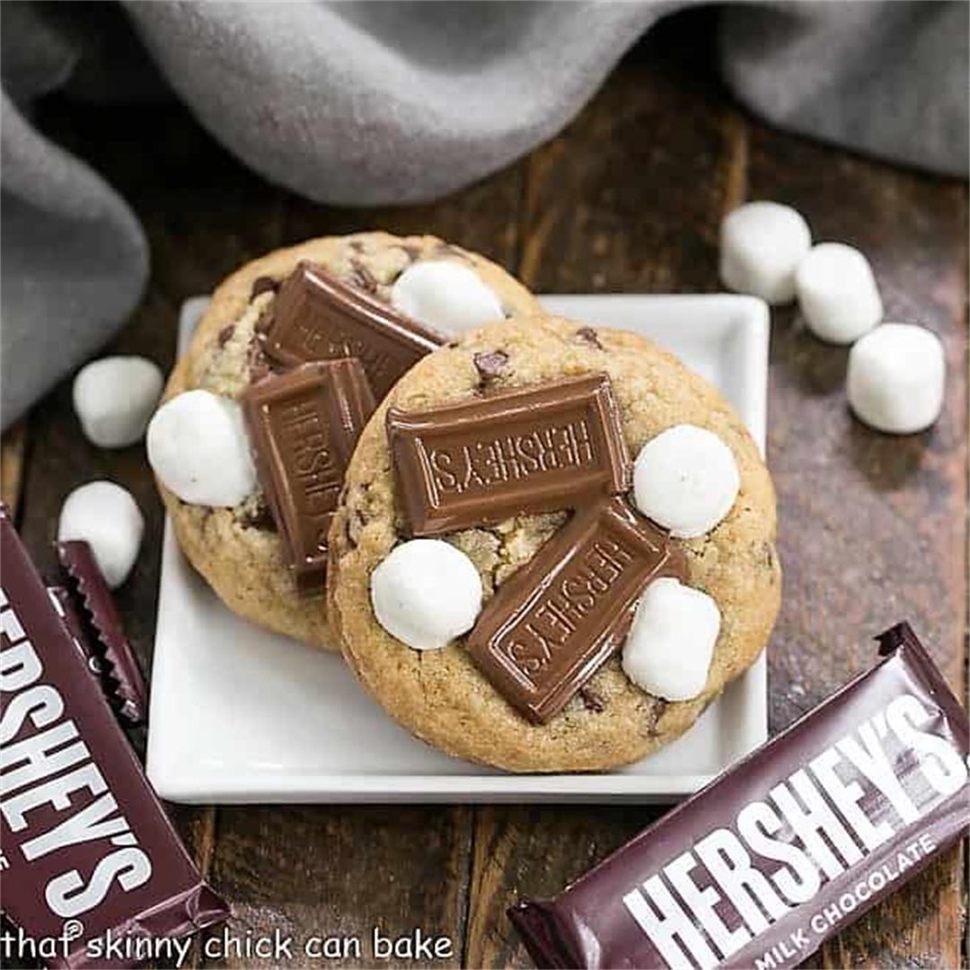 S'mookies AKA Gooey Smore's Cookies