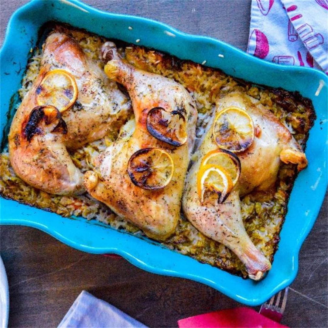 Spring Chicken and Rice