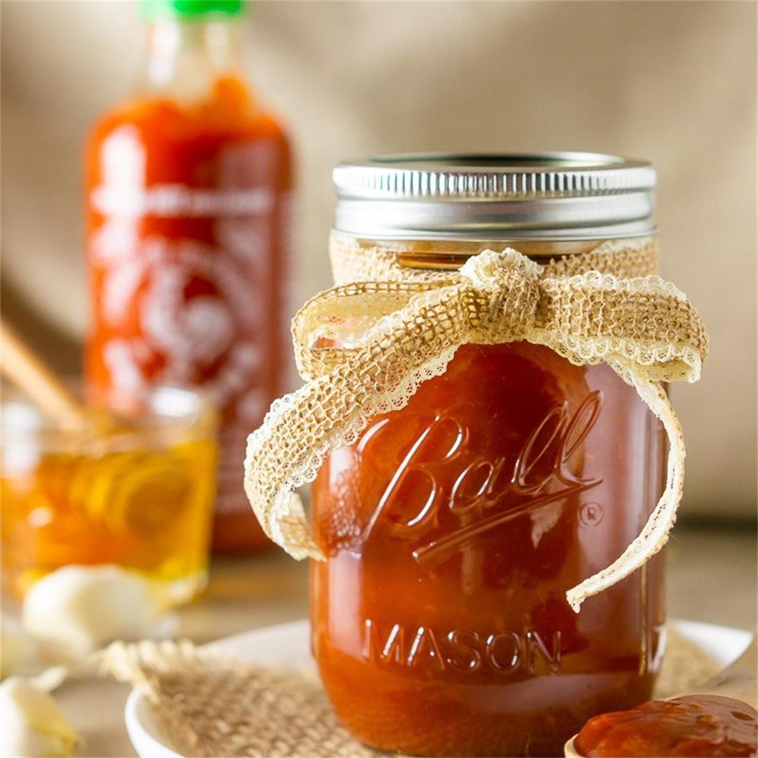 Honey-Sriracha BBQ Sauce