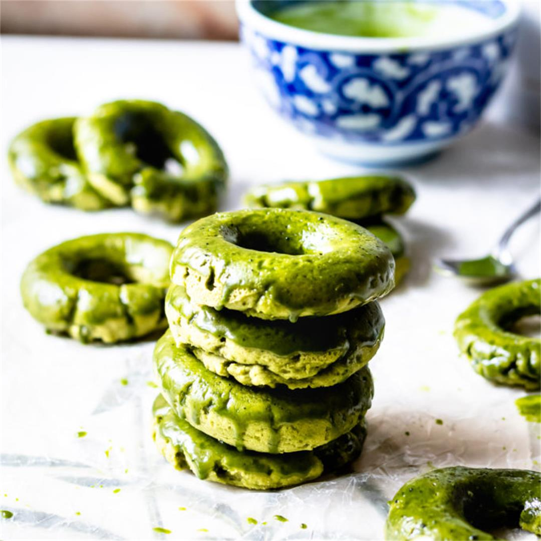 Matcha Mochi Donuts - Cooking Therapy