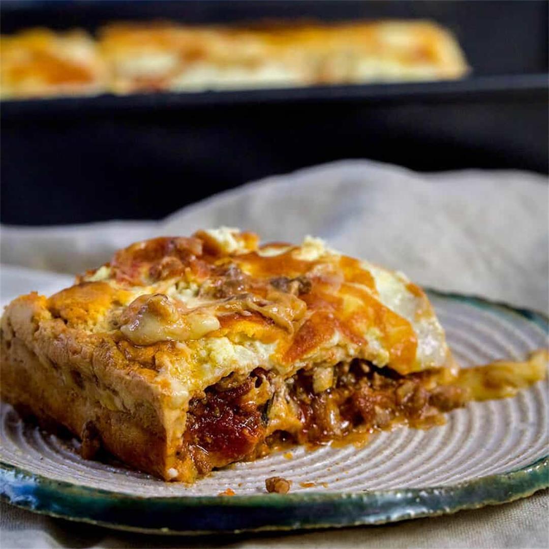 Easy Keto Beef Lasagna