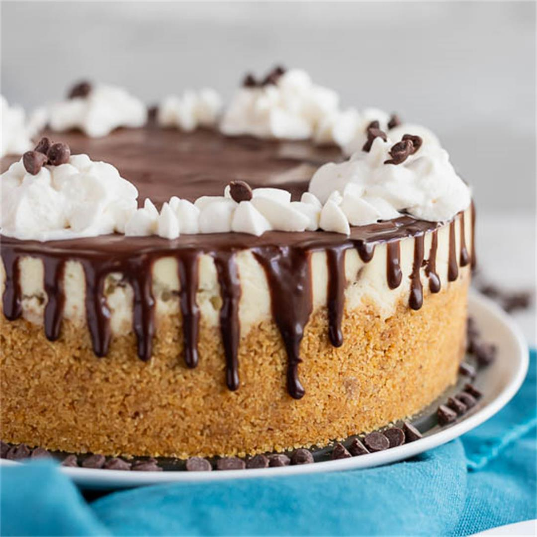 Instant Pot Chocolate Chip Cheesecake