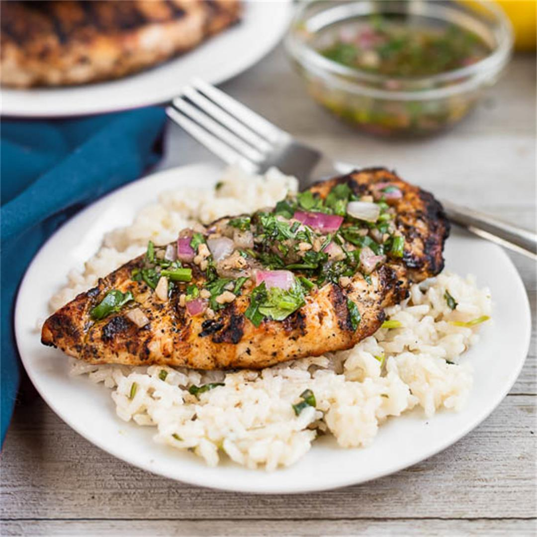 Chimichurri Chicken and Rice